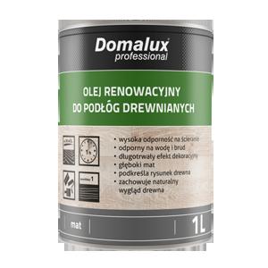 Domalux Olej renowacyjny do podłóg drewnianych