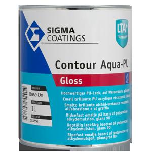 Sigma Contour Aqua PU Gloss img