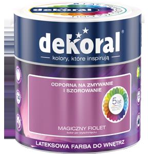 Niewiarygodnie Kolory farb do wnętrz - dekoral.pl BS76