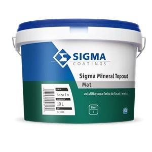 Sigma Mineral Topcoat