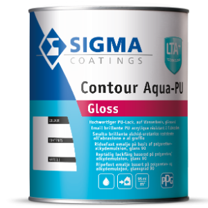 Sigma Contour Aqua PU Gloss