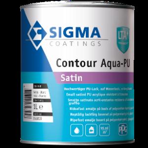 Sigma Contour Aqua PU Satin img