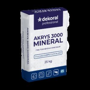 AKRYS 3000 MINERAL 1,5mm i 2mm