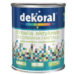 Emalia Akrylowa do drewna i metalu