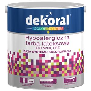 Hypoalergiczna farba lateksowa